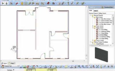 Drawing Walls using Cartesian Coordinates (Video)