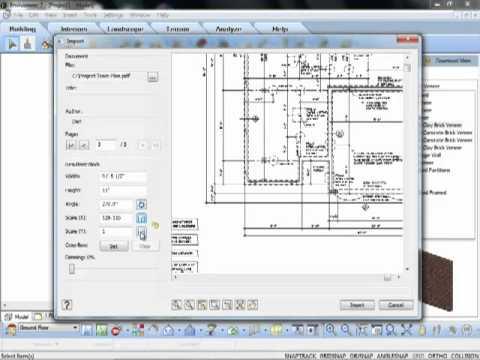 Import PDF (Video)