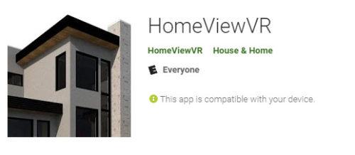 HomeViewVR App