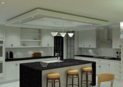 Center Island Kitchen