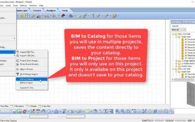 Importing and Exporting BIM Files